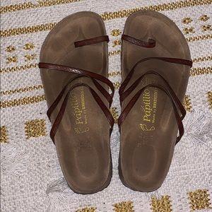 Papillon Birkenstock's Brown Sandals